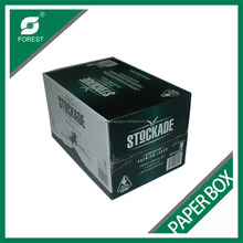 Design provided tape closing wine shipping beer shipper carton box