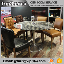 Indian Style Dining Room Furniture Round Marble Table Tops