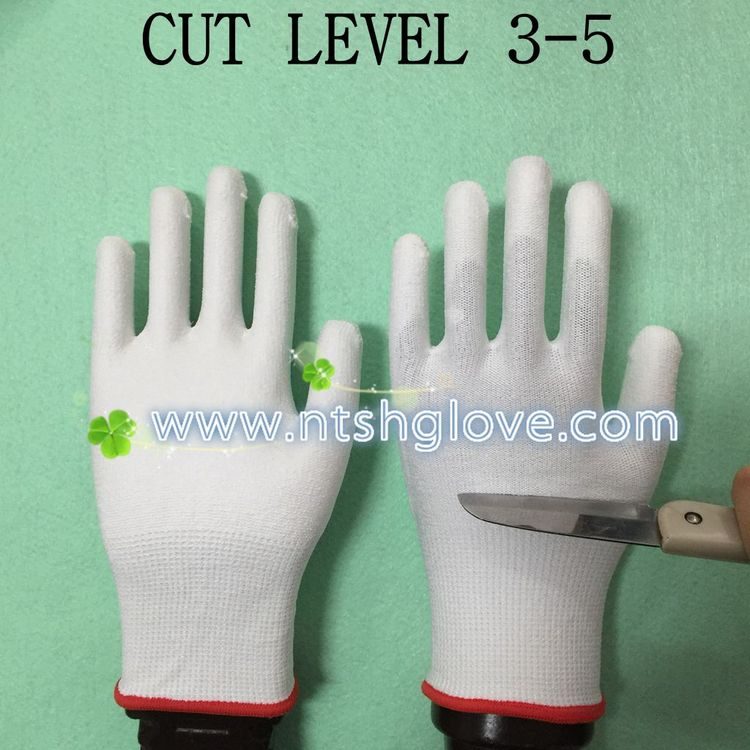 Top level High Performance steel wire mesh cut resistance gloves