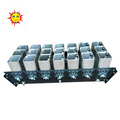 2 inch 21 shots aluminium alloy mortar fireworks display rack