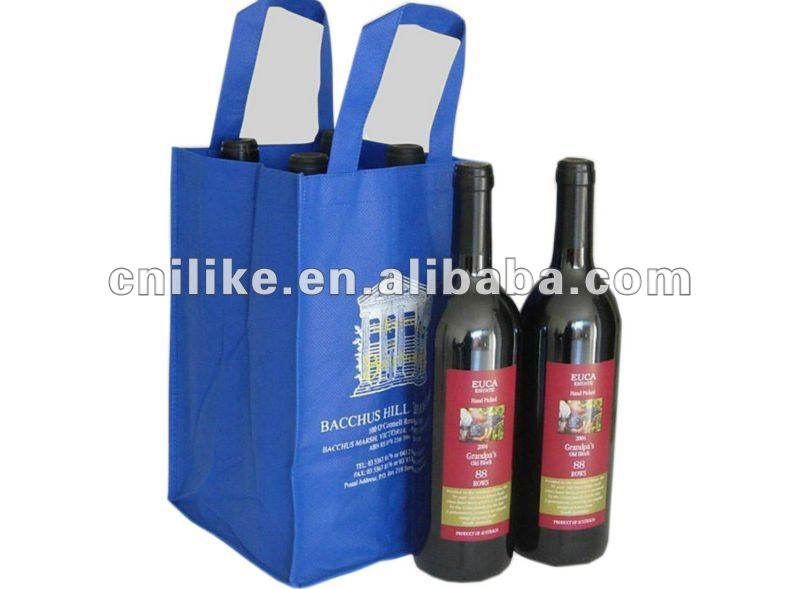 nonwoven bottle bag