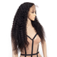 Unprocessed Virgin Remy 9A Brazilian Hair Curly Full Lace Wigs For Black Women