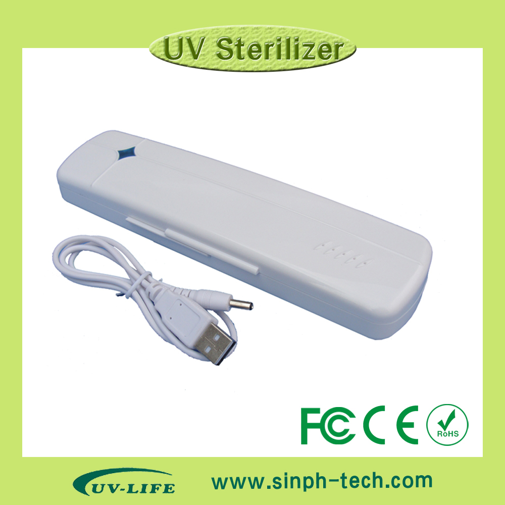 TB-15 Portable Design UV Toothbrush Automatic Sanitizer