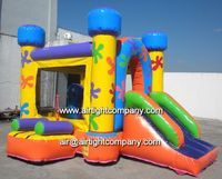 rental business amusement playground inflatable combo jumper slide kids inflatable combo bouncer for sale