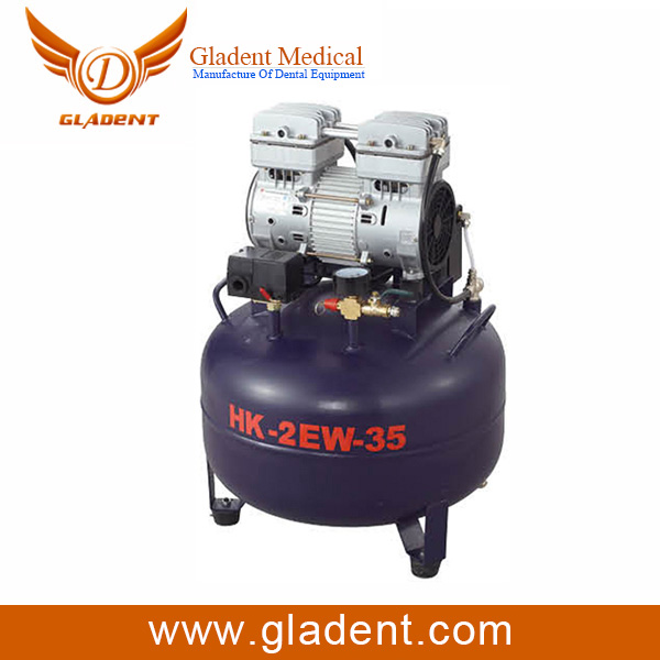 Gladent Good quality luowei protable moveable piston air compressor high and low pressure