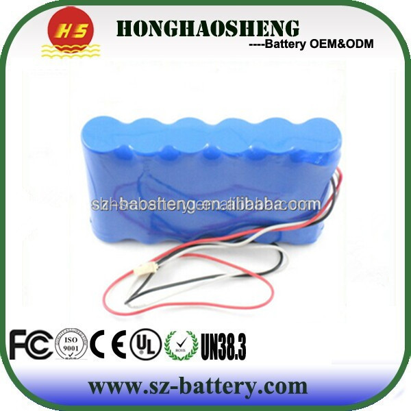 12V 5Ah lithium iron phosphate battery pack with ABS case lifepo4 battery for Motor