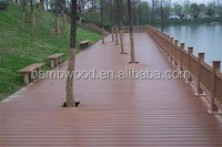 Low price High quality Cheap Waterproof composite timber decking from China