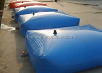 Collapsible Pillow Type Water Tank For Water Refilling Station