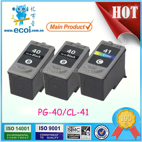 PG-40 CL-41 ink cartridges for canon pixma ip1880