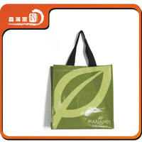 XHFJ high quality pp woven shopping bag with glossy lamination