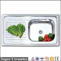 foshan high quality best sale stainless steel finish kitchen sinks