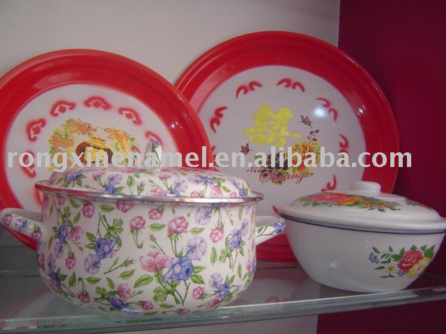 enamel pot,cooking ware,kitchen ware