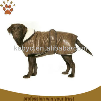 wrap dog coat