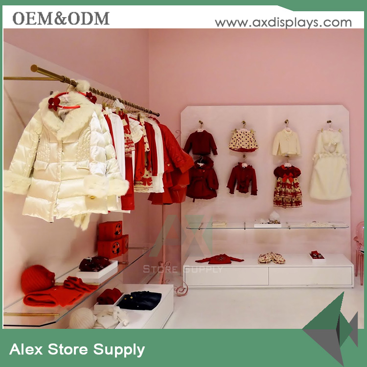 Baby And Kids Clothes Display Stand Furniture For Kid Clothing Shop