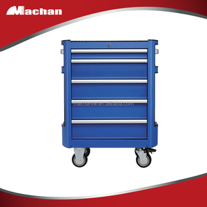 Built-in heavy duty handle easy pushing OEM tool box roller cabinet