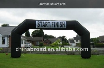 arch for race finish line