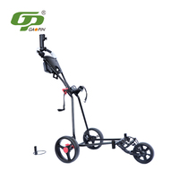 3 Wheel Aluminium Alloy Single Golf Trolley