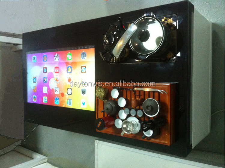 hotel 32 inch smart touch tea table, kiosk, advertising player