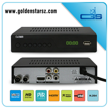 Professional DVB T2 international satellite tv receiver with Ali 3821 chipset
