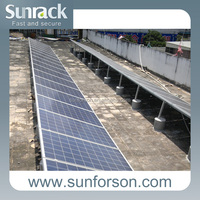 Mounting universal roof, solar power station