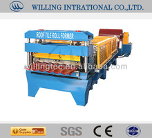 Used auto concrete glazed ceramic floor tile making machine