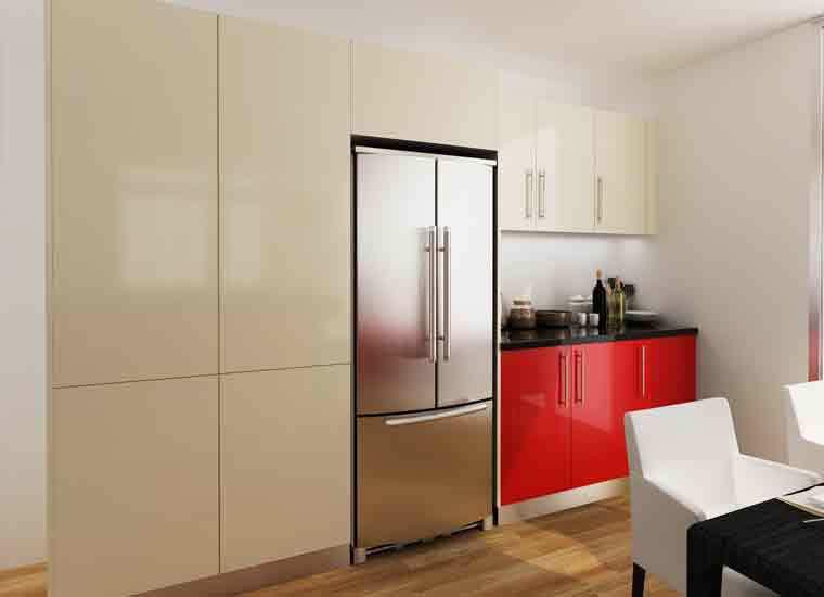Kenya Project Modern Design Round Laminate Kitchen Cabinets Buy Laminate Kitchen Cabinet Round