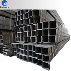 Astm a500 concrete lined rectangle steel pipe