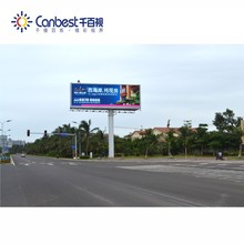 HD brightness led large screen display billboard for Outdoor advertising
