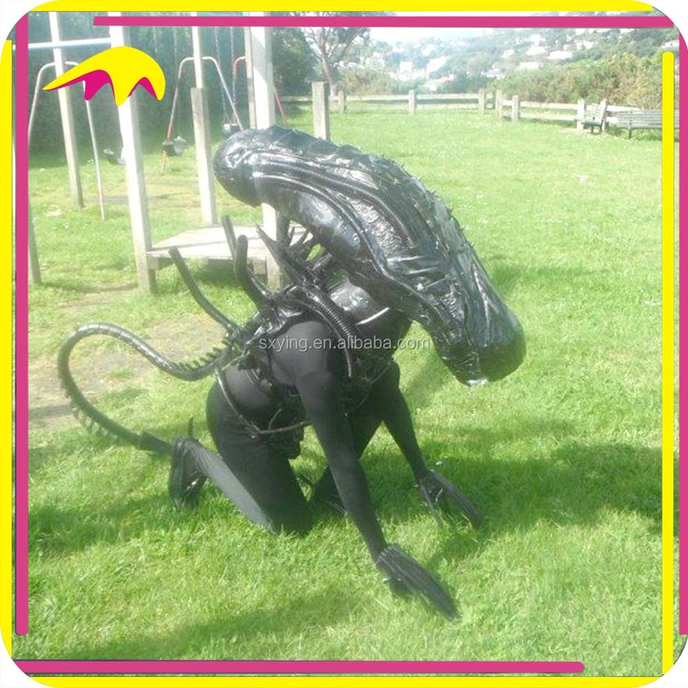 KANO0552 Amusement Movie Prop Lifelike Masoct Alien Costume