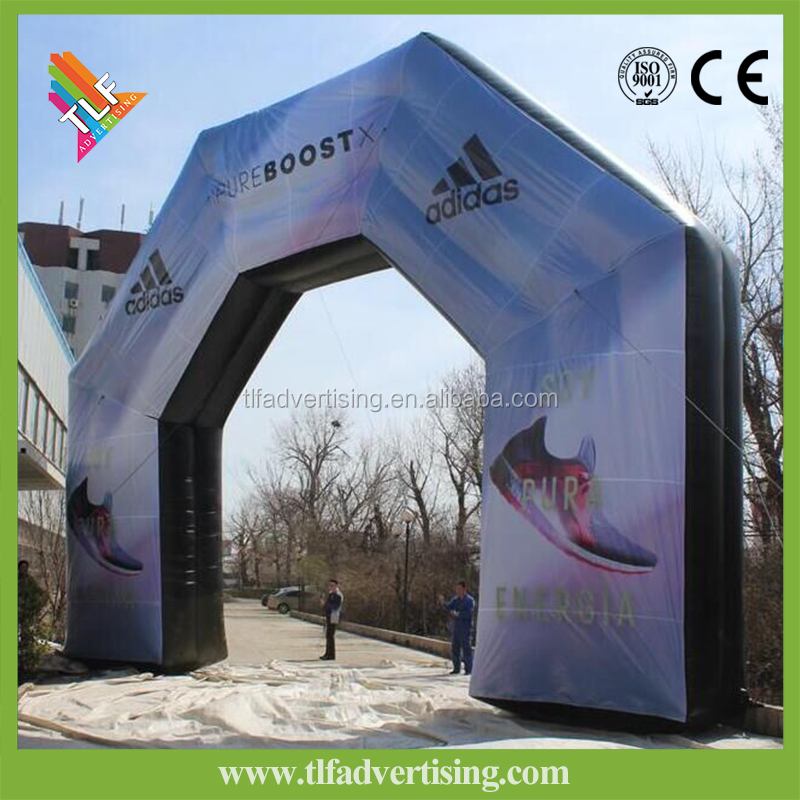 Full color print direct Inflatable Arch Welcome/Start/Finish Line Entrance Archway