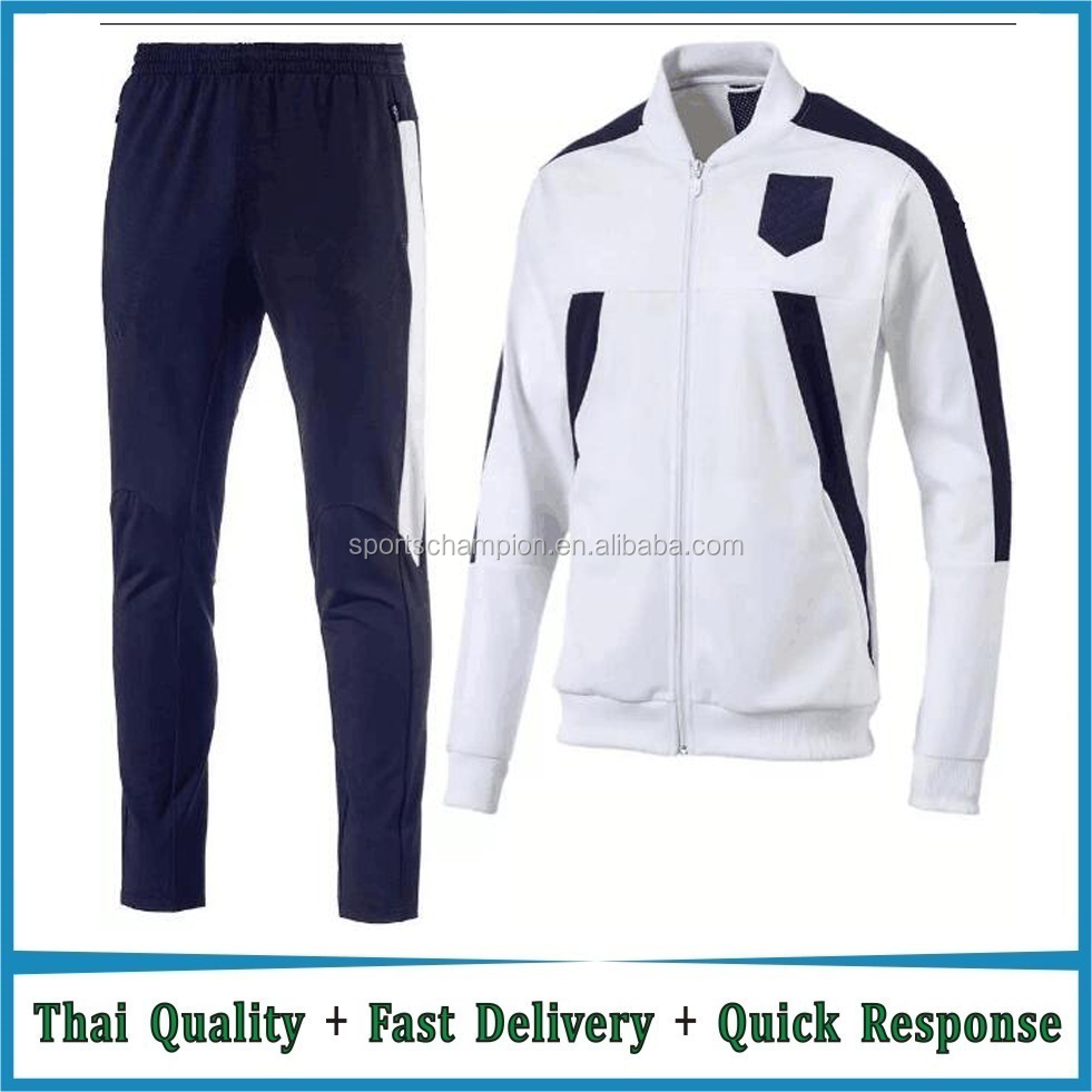 New Arrival Men Football Team Jacket Set Italy Soccer Jacket and Pant