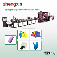 High Speed 700 model Modern design non woven box bag making machine on roll