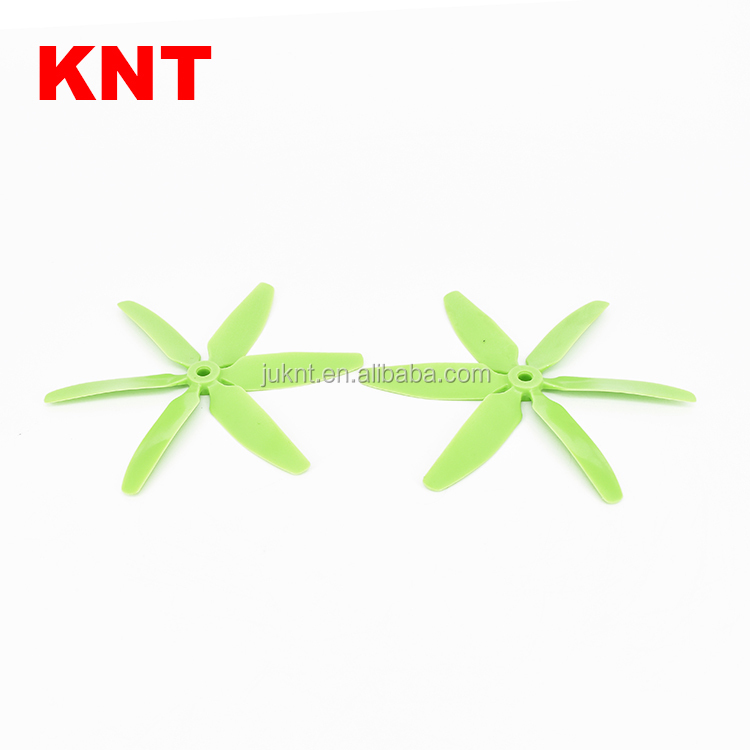 KNT FPV Latest Propeller 5040 Fiber Nylon props 5x4.0 CW CCW 6 blades Props for FPV Racing Multirotor Quadcopter
