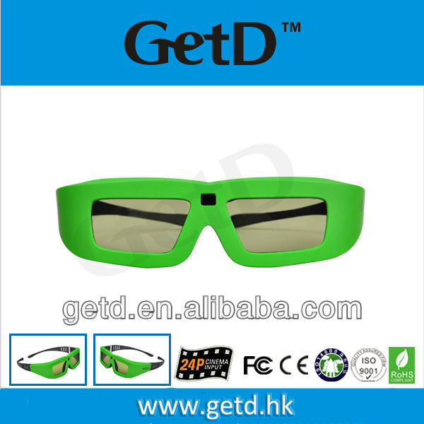 active infrared glasses with replaceable CR2032 battery GT100