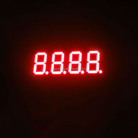 0.36'' red seven 7 segment led display four quad 4 digit for clock sign