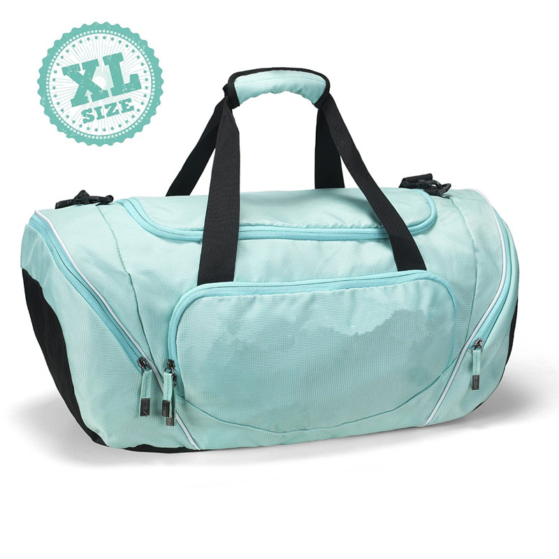 Multicolor big caoacity travel bag cooler duffle sports bag