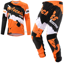 2017 Custom Mx Jersey Pants Motocross Dirt Bike Gear Set Motocross Jersey and Pant Off-Road Sublimated Mx Jersey and Pant