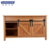 Curved Bamboo natural color bathroom vanity/cabinets with two sliding gate