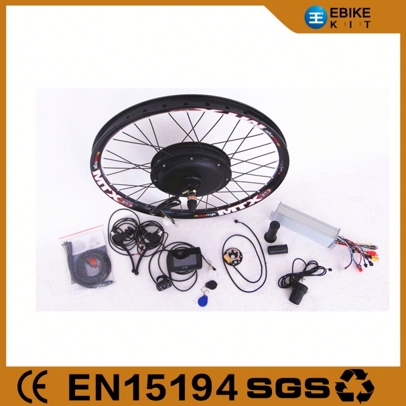 Electric Bike Kit 5000 Watt Hub Motor for Bicycle Conversion