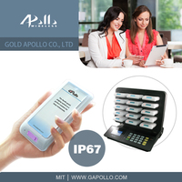 GOLD APOLLO - guest pager waterproof pager wireless pager