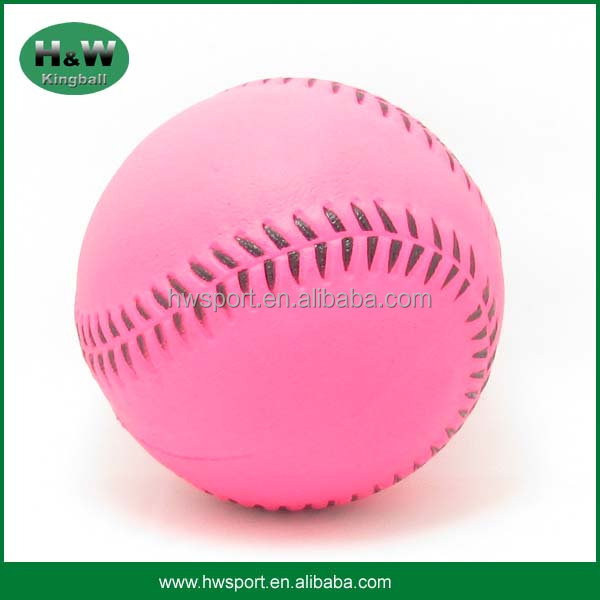 Custom Foam Rubber Baseball Shape Solid Sponge Rubber Ball