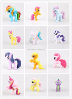 Birthday gift My little Pony Figure Toy, PVC Twilight Sparkle Horse toy, 5cm Plastic Earth ponies toy