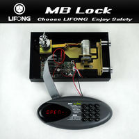 Electronic cabinet lock electronic digital locks for locker with motorized system-Model MB