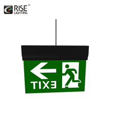 Rise Lighting Self-Inspection Emergency sign light with recessed installation 3W Led Exit Light (SYE6900D)