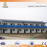 low cost living temporary prefabricated house used prrfab school accommodation building projects