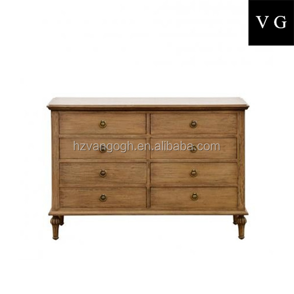 French Antique Wooden Cabinets Old Vintage Solid Wood Furniture cabinets drawers