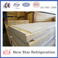 Refrigerator polyurethane steel foam sandwich roof panel for cold storage