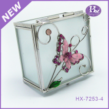 HX-6394 Square transparent jewelry box,necklace jewelry box,box for jewelry wholesales