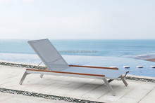 2016 latest European design outdoor antique chaise lounge chair