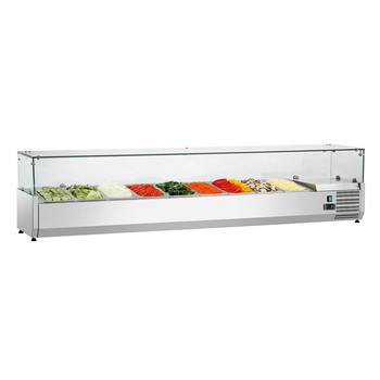 Cheap Used 2 Door Counter Top Subway Sandwich/Saladette/Salad Bar Fridge Prep Table Refrigerated